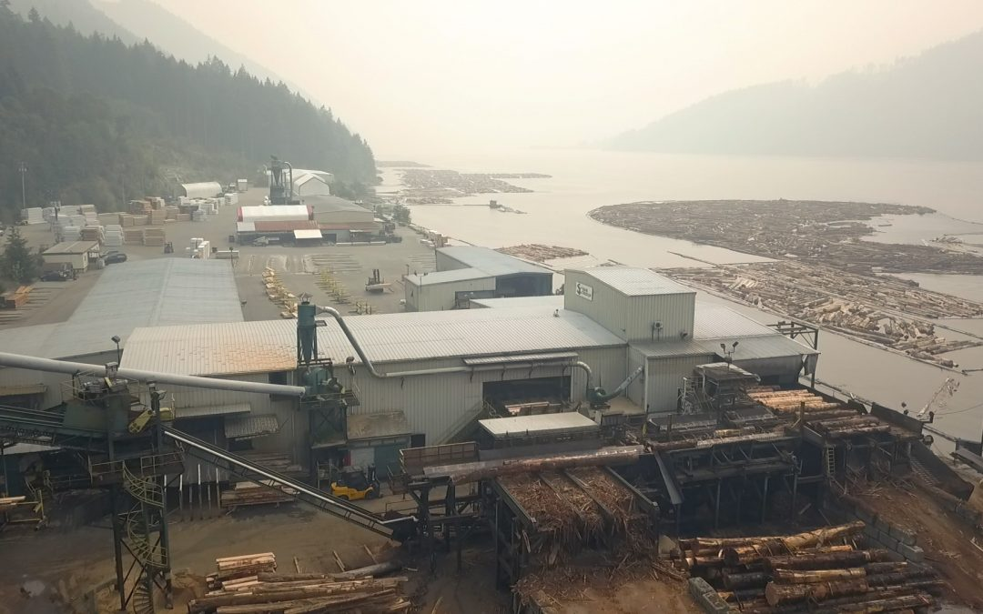 On May 1, 2017 San Group acquired the Coulson Manufacturing sawmill located in Port Alberni, BC.