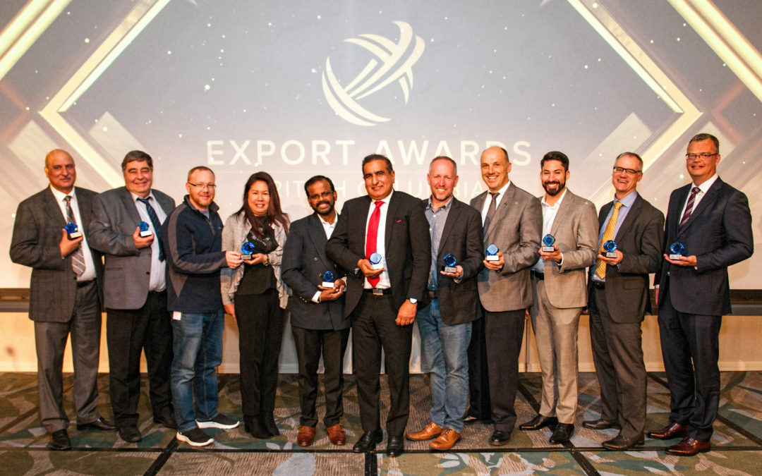 San Group honoured with two BC export awards. Recognition includes Exporter of the Year
