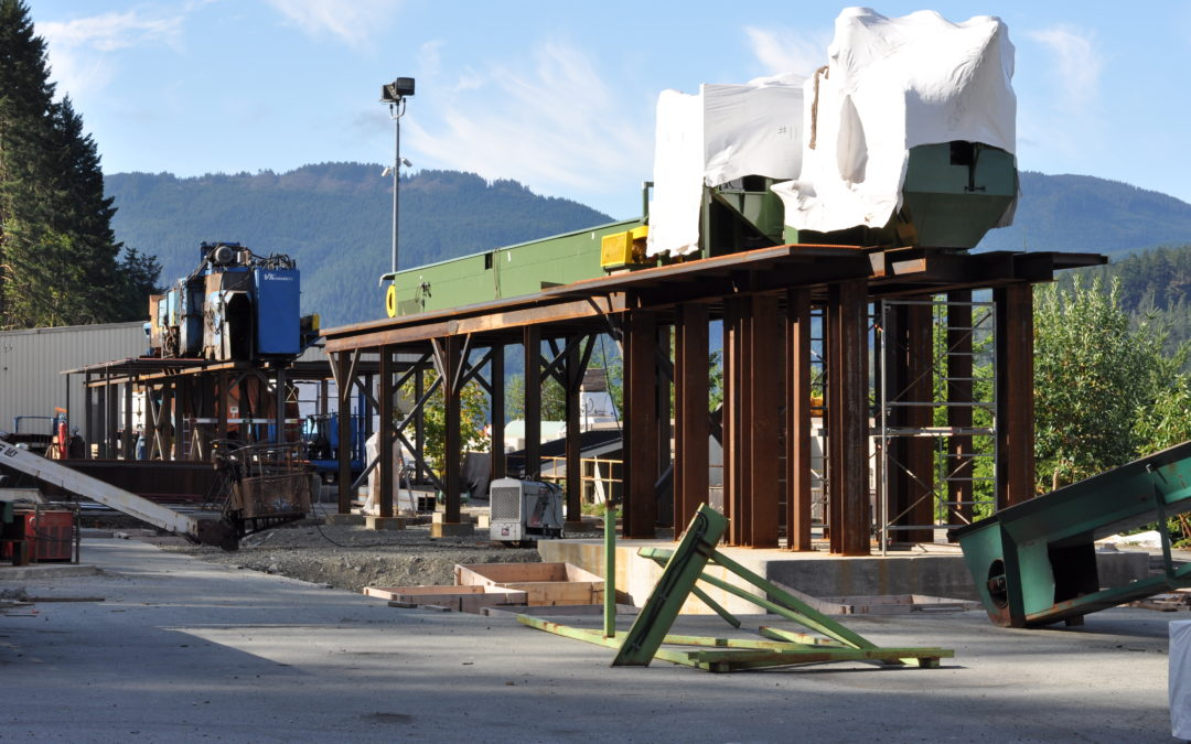 San Group's major Port Alberni expansion is under way