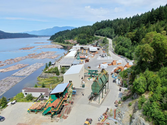 San Group bets on 'high-value' future with new Port Alberni sawmill